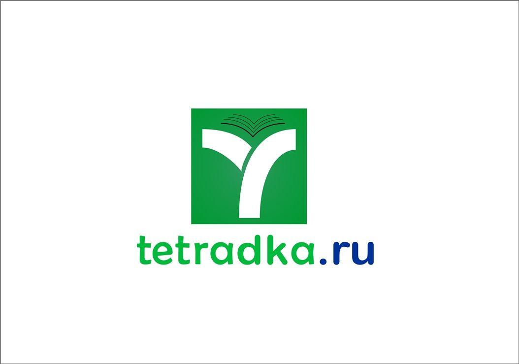 Логотип для образовательной сети tetradka.ru - дизайнер sqwartl
