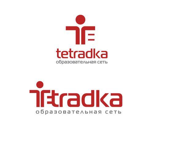 Логотип для образовательной сети tetradka.ru - дизайнер peps-65