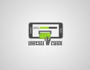 Логотип для партнерской программы InstallCash - дизайнер dsimonoff