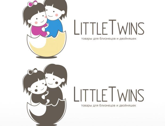Логотип детского интернет-магазина для двойняшек - дизайнер dimakomar2012