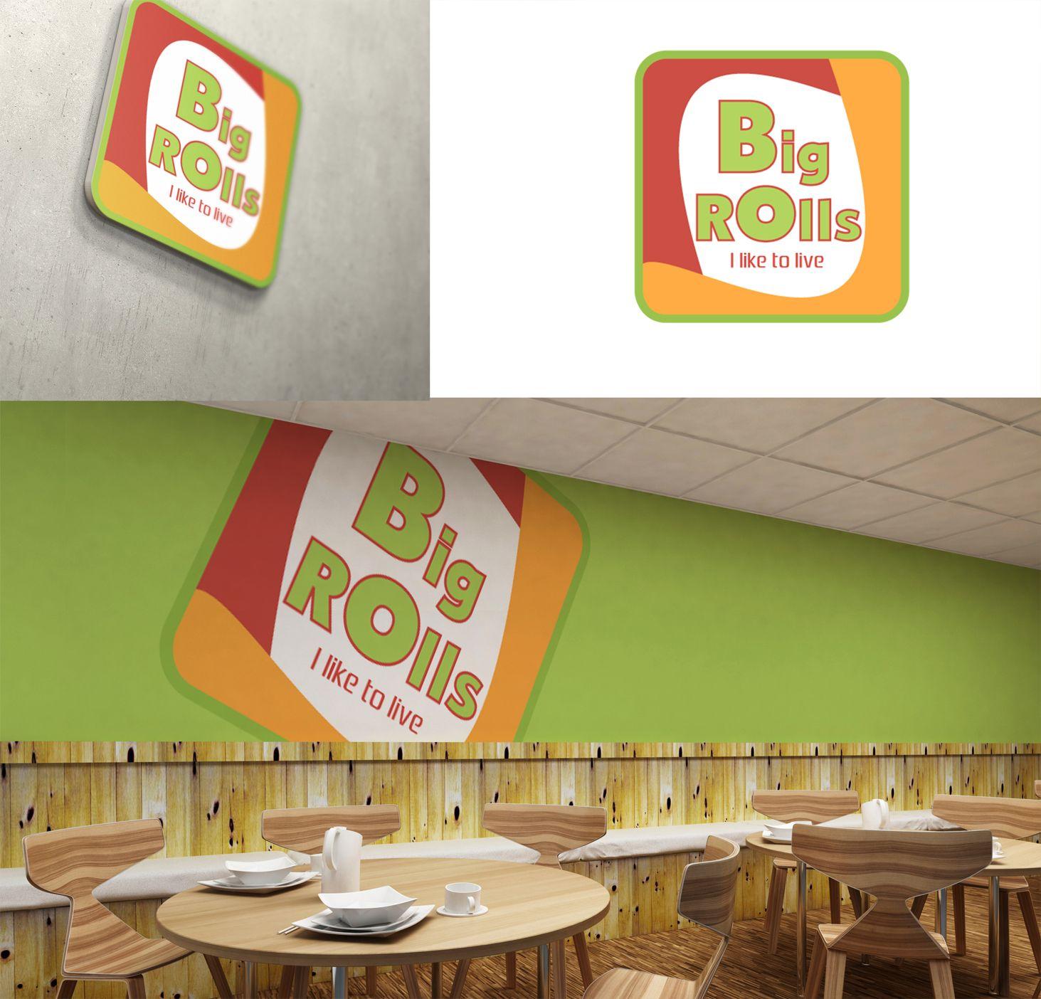 логотип для BigRolls - дизайнер SmolinDenis