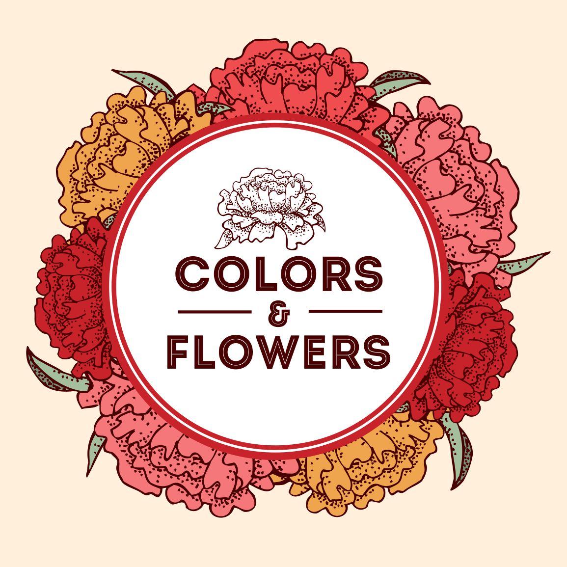 Colors & Flowers Логотип и фирменный стиль - дизайнер logig
