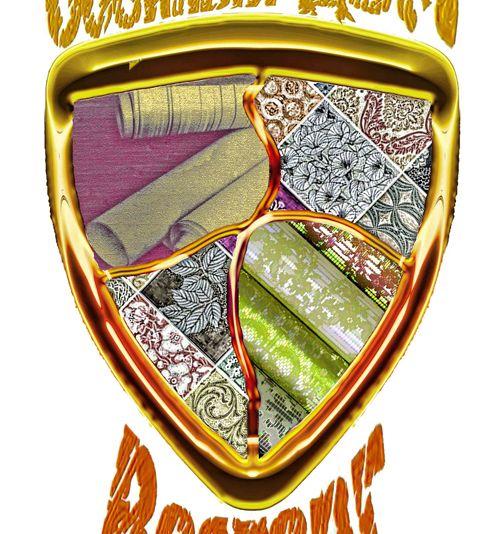Логотип обойного дома - дизайнер v_ch