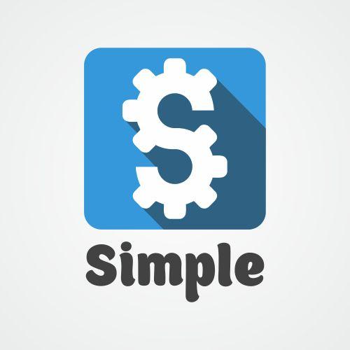 Лого для Simple. Компания по продаже автозапчастей - дизайнер logig