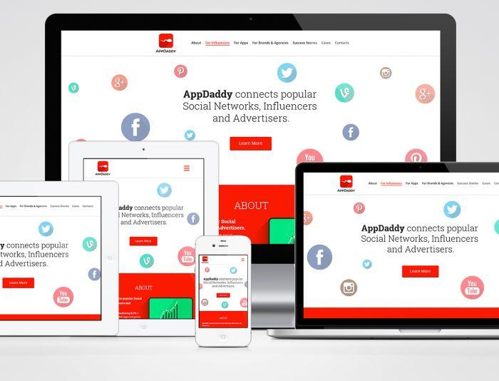 Адаптивный дизайн главной сайта (под мобилки) - дизайнер Aziev