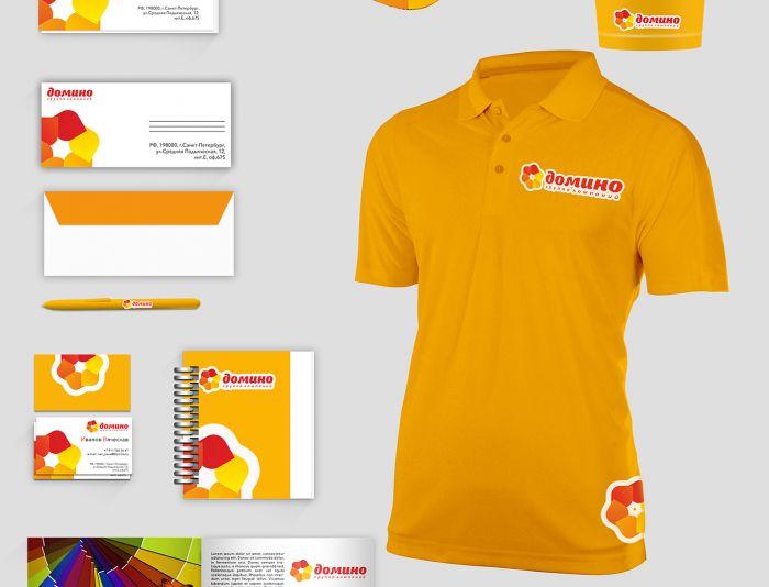 Разработка фирменного стиля (логотип готовый)  - дизайнер Xenya_Arno