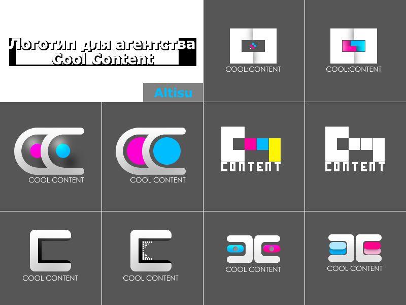 Лого для агентства Cool Content - дизайнер Altisu