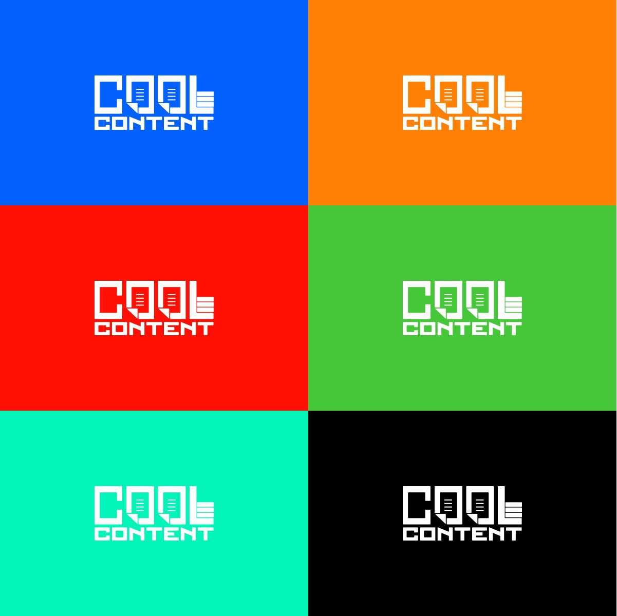 Лого для агентства Cool Content - дизайнер U4po4mak