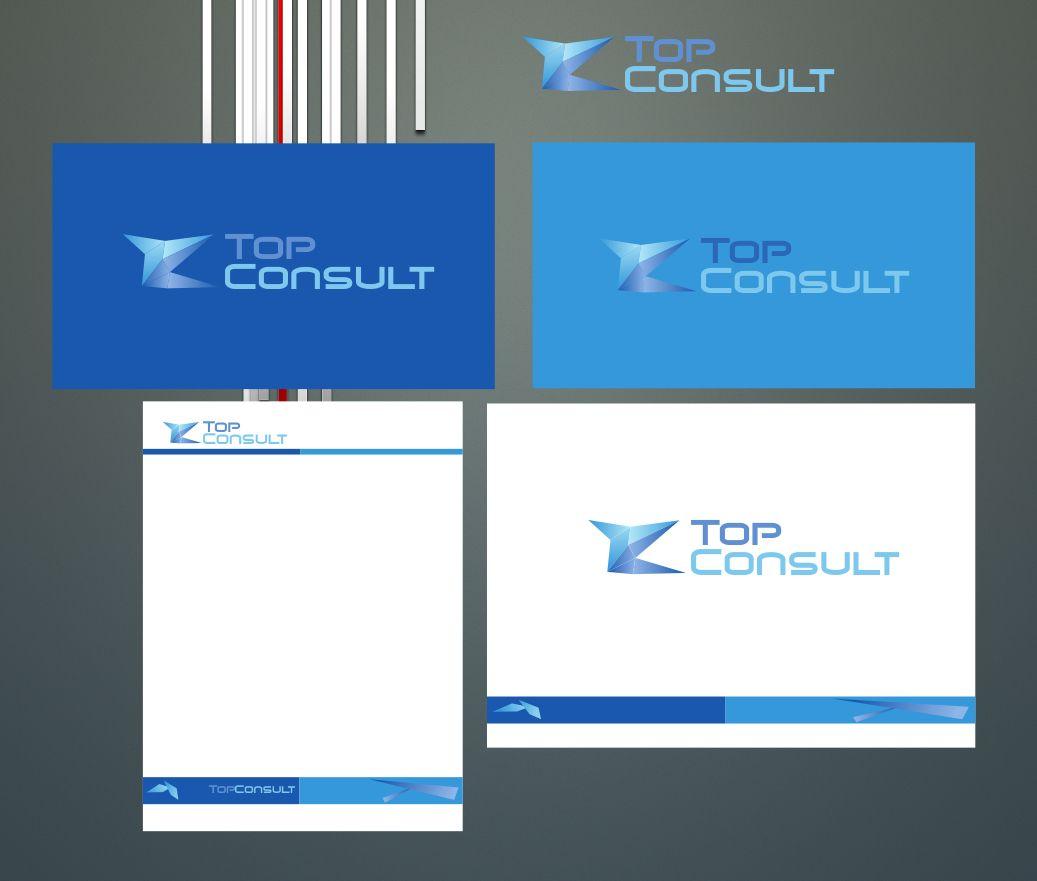 фирстиль агентства по коммуникациям - дизайнер Domtro