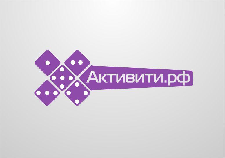 Логотип магазина активити.рф - дизайнер Domtro