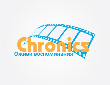 Логотип сервиса Chronics - дизайнер kinomankaket