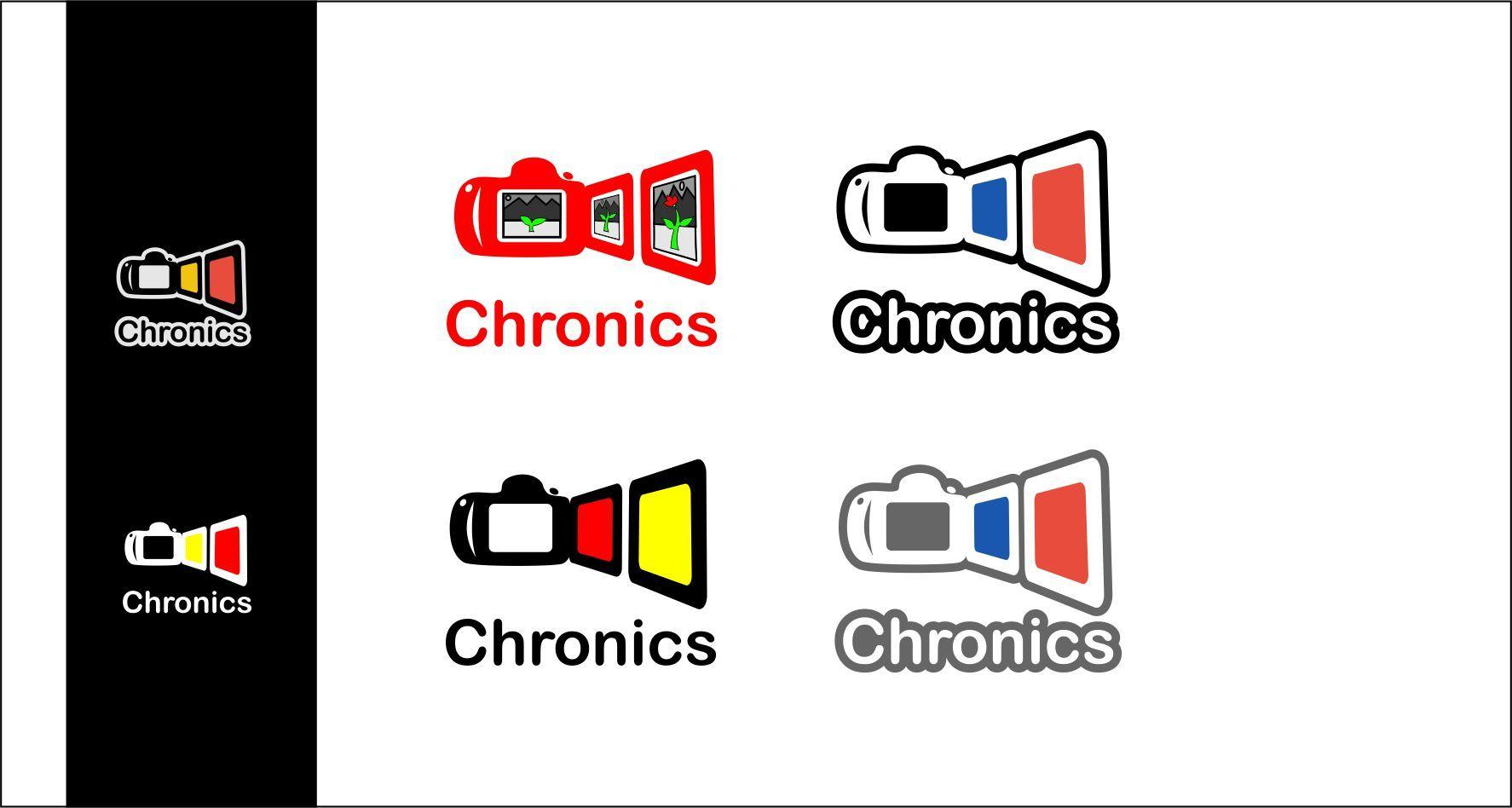 Логотип сервиса Chronics - дизайнер AlexZab