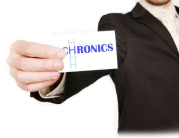 Логотип сервиса Chronics - дизайнер dmmurtazin