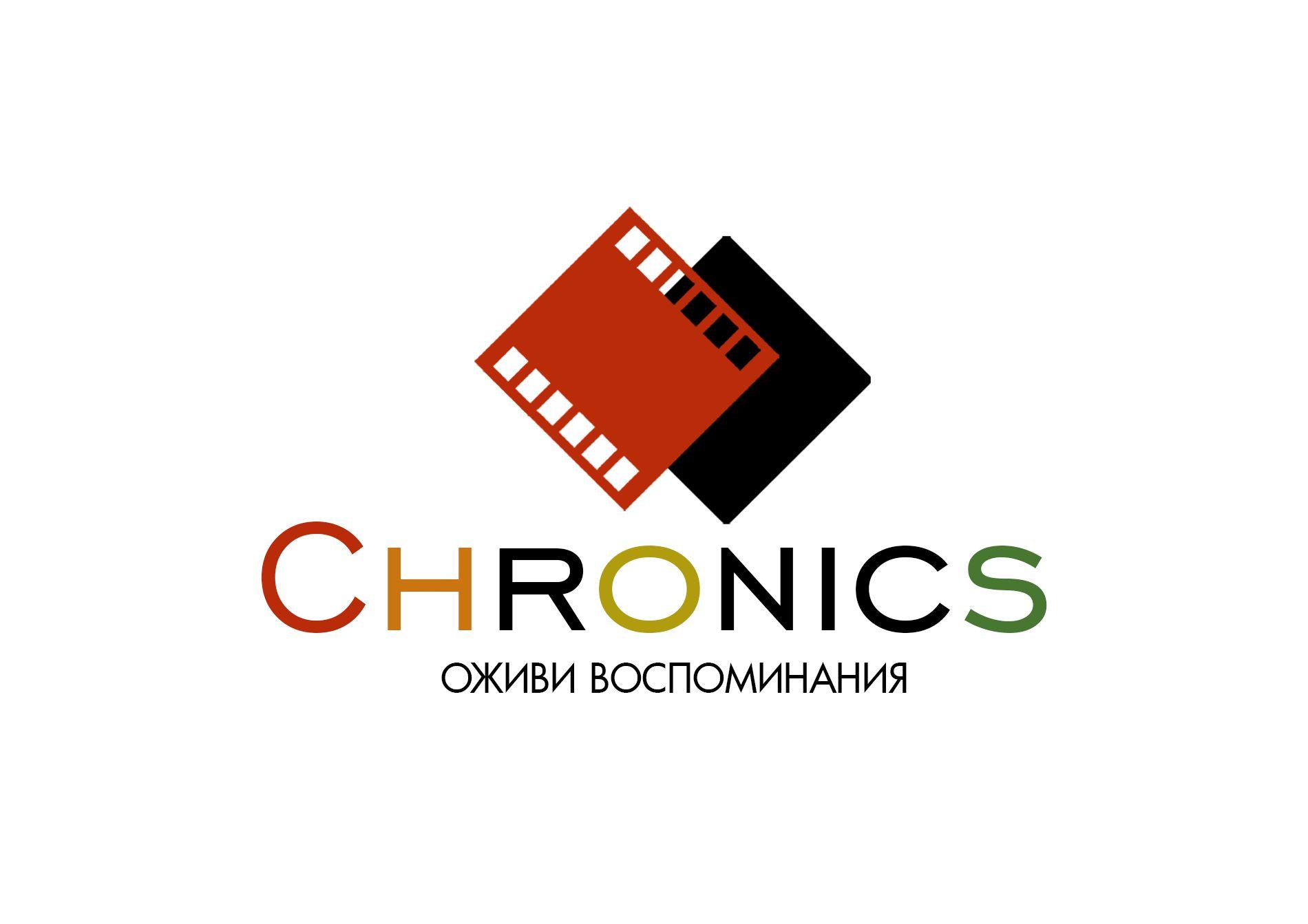 Логотип сервиса Chronics - дизайнер Leonardo