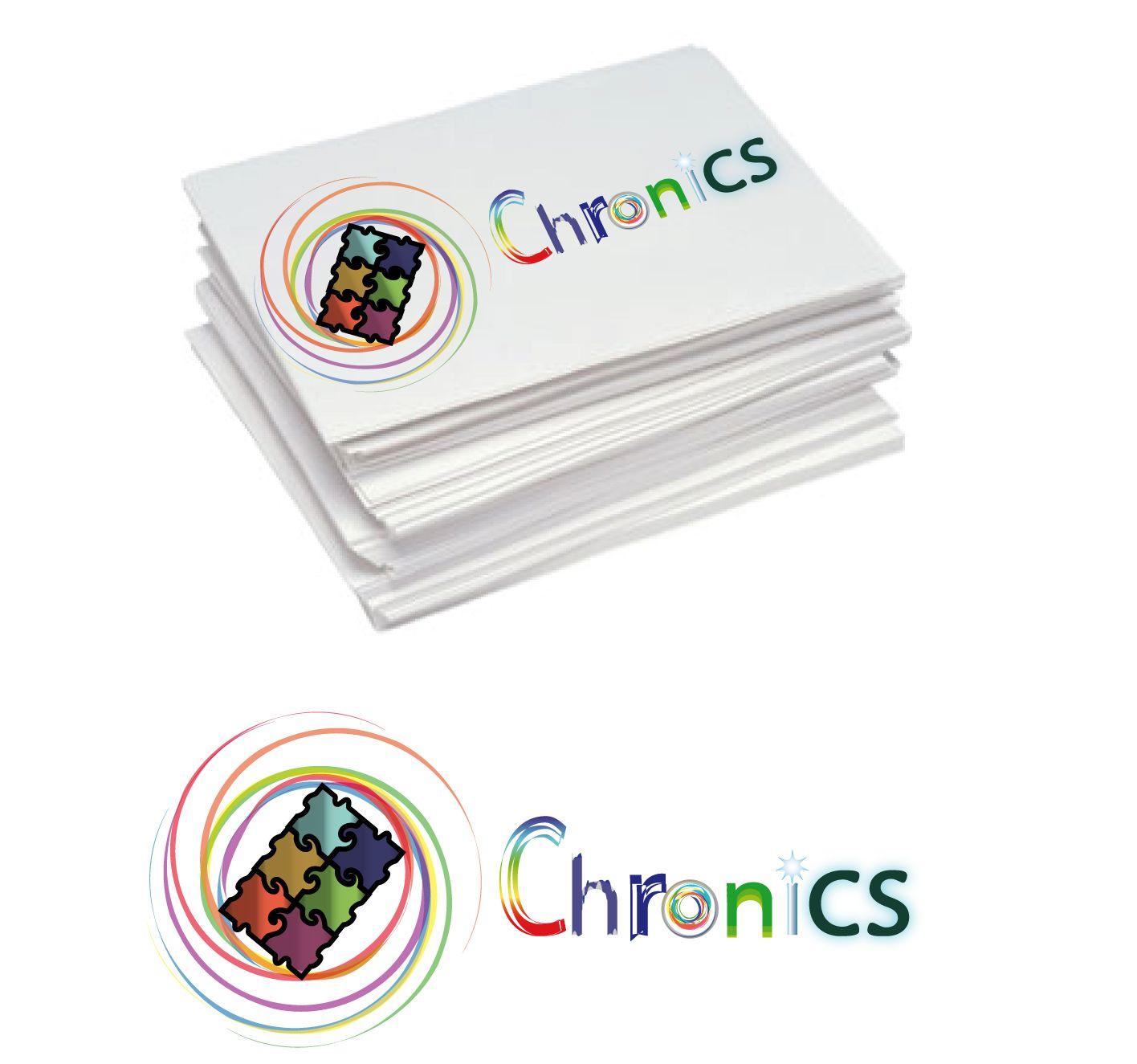 Логотип сервиса Chronics - дизайнер rammaxx