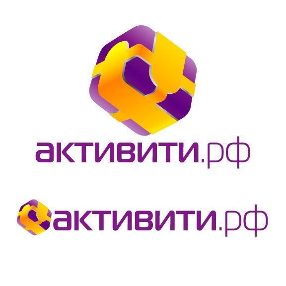 Логотип магазина активити.рф - дизайнер zhutol