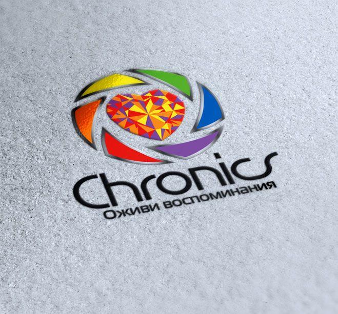 Логотип сервиса Chronics - дизайнер zhutol