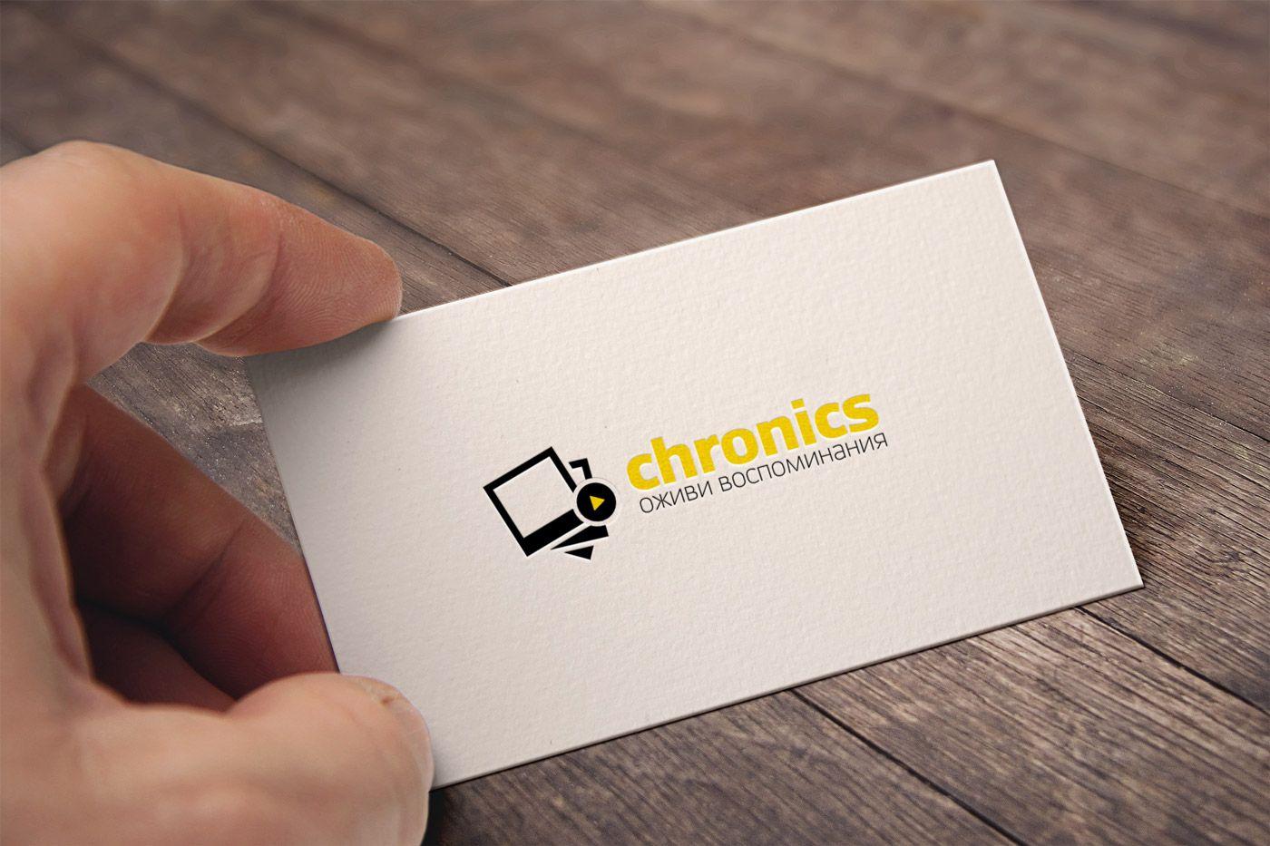 Логотип сервиса Chronics - дизайнер Vladimir_Florea