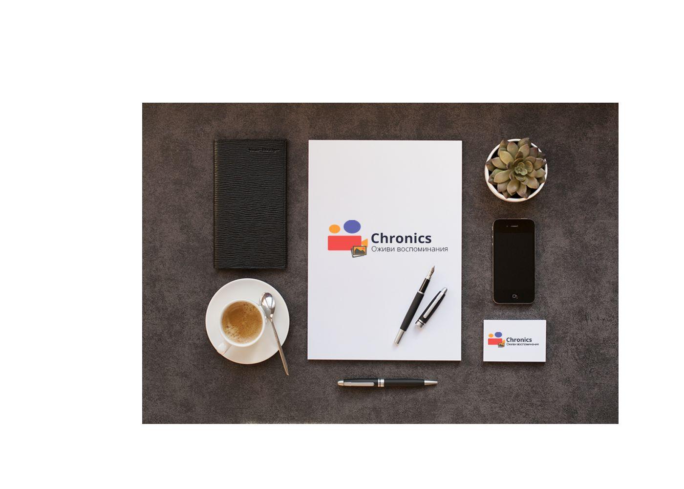 Логотип сервиса Chronics - дизайнер weber