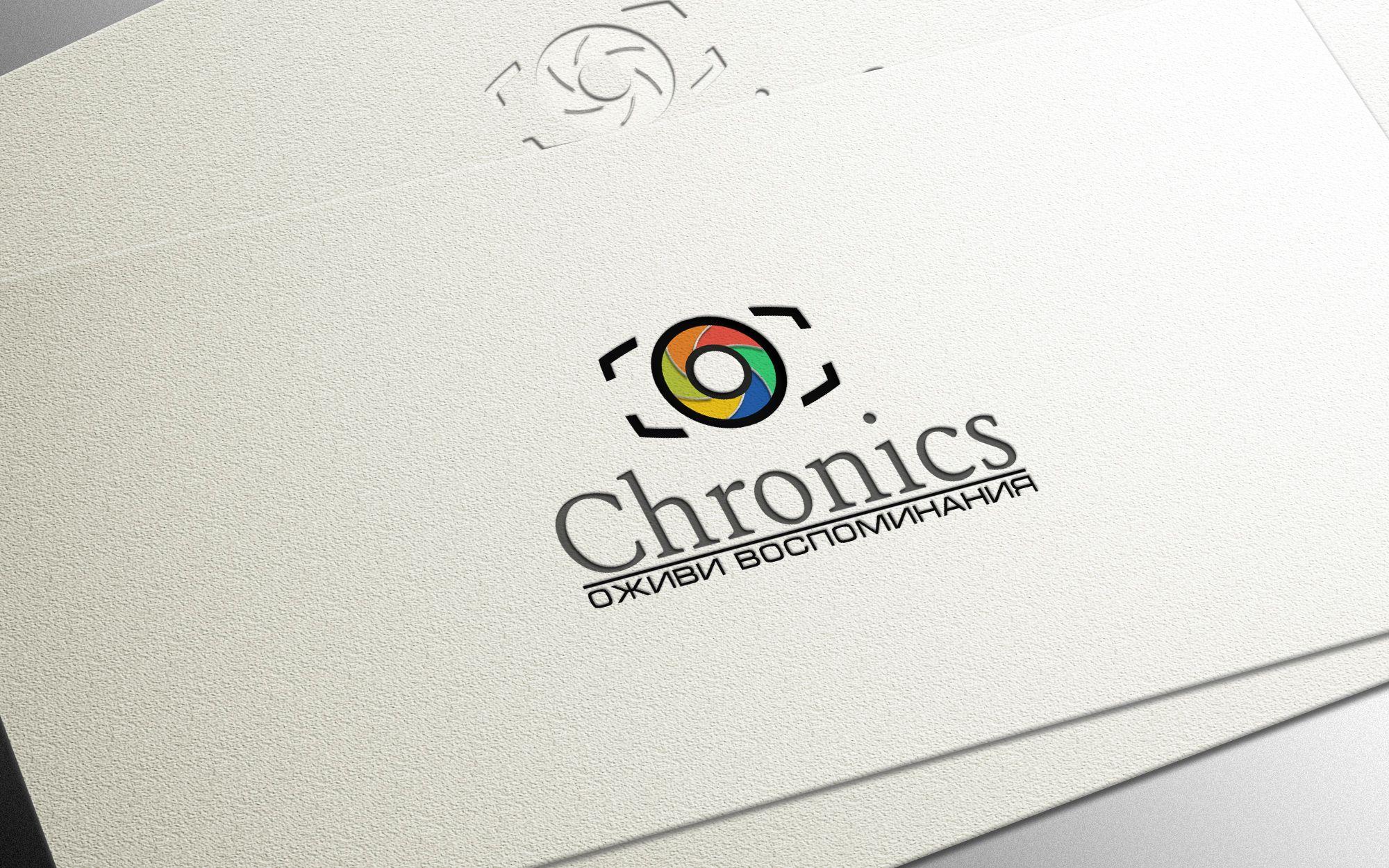 Логотип сервиса Chronics - дизайнер Gas-Min
