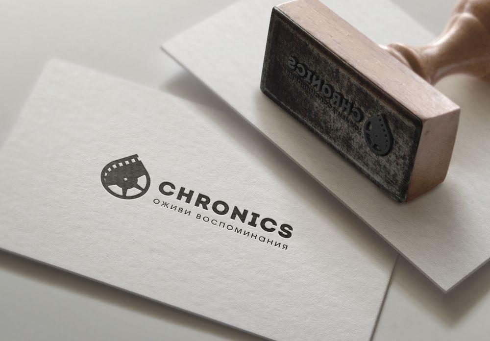 Логотип сервиса Chronics - дизайнер mz777