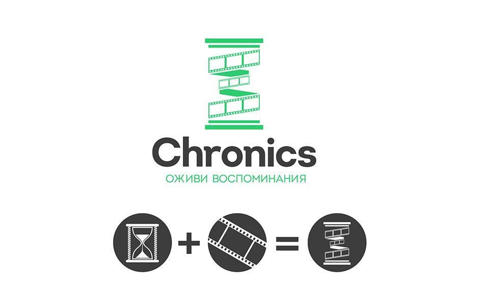Логотип сервиса Chronics - дизайнер antmal