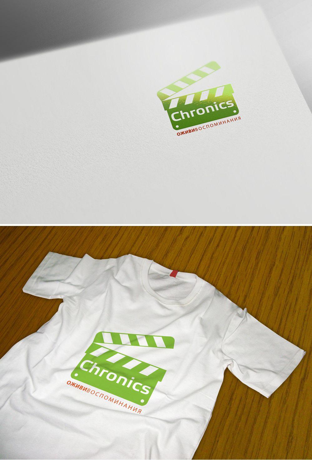 Логотип сервиса Chronics - дизайнер GreenRed
