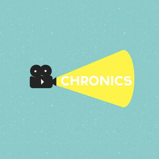 Логотип сервиса Chronics - дизайнер WAVESAW