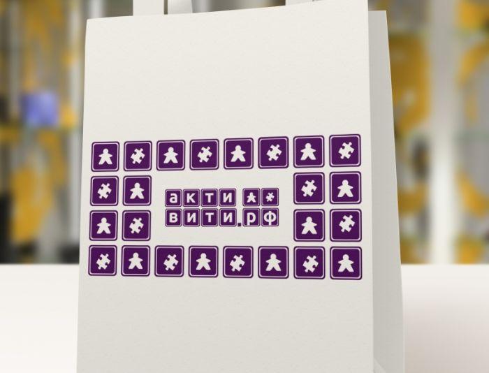 Логотип магазина активити.рф - дизайнер zozuca-a
