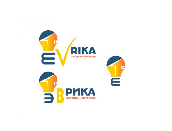 Логотип строительной компании Эврика - дизайнер shenky
