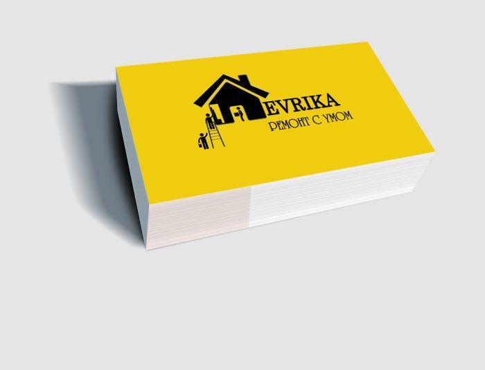 Логотип строительной компании Эврика - дизайнер PelmeshkOsS