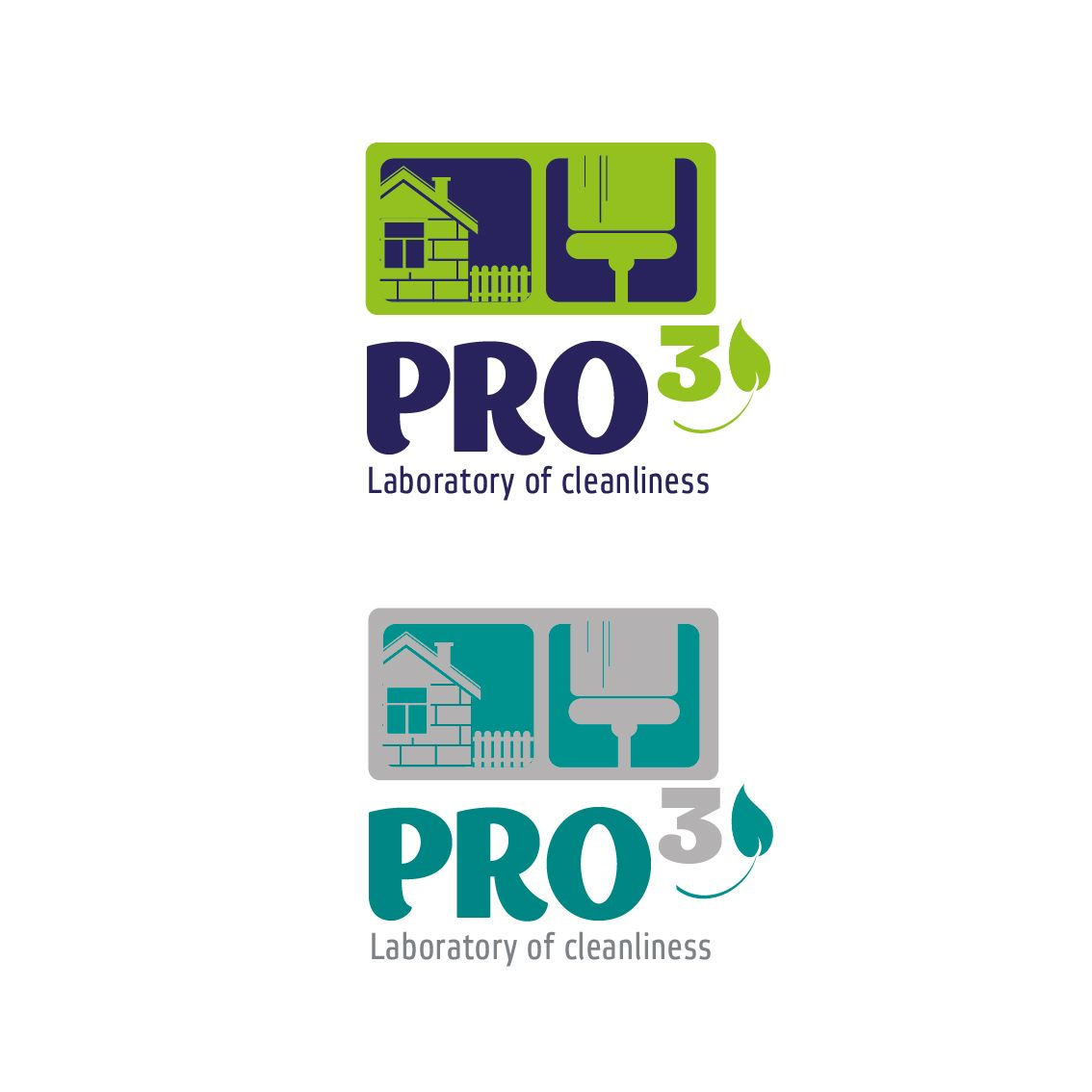 Логотип  для Лаборатории чистоты PRo3 - дизайнер li_monnka