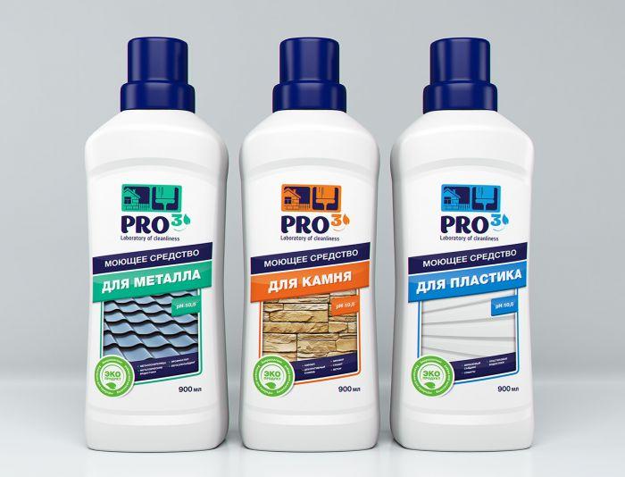 Супер-этикетки для Лаборатории чистоты Pro3 - дизайнер WhiteRabbit