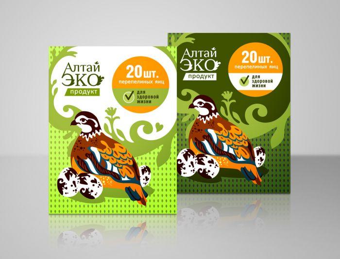 Лого и упаковка для Алтай Эко Продукт - дизайнер FONBRAND
