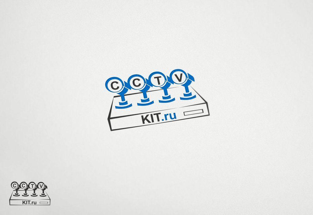 Логотип для интернет-магазина видеонаблюдения - дизайнер Keroberas
