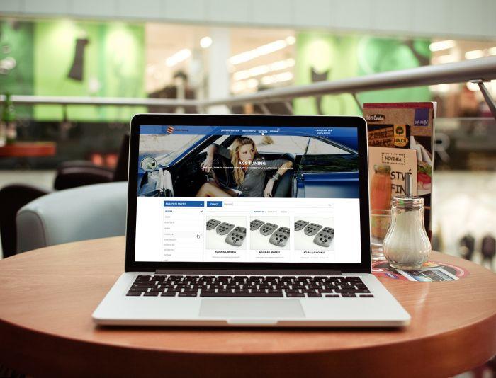 Дизайн для интернет-магазина автозапчастей - дизайнер PelmeshkOsS