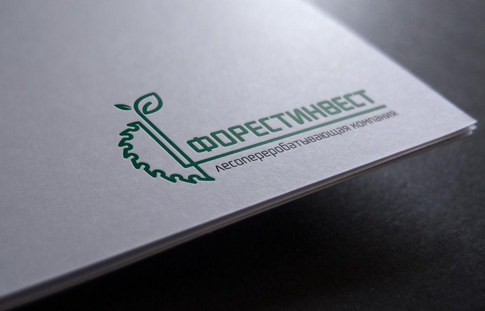 Логотип для лесоперерабатывающей компании - дизайнер zanru
