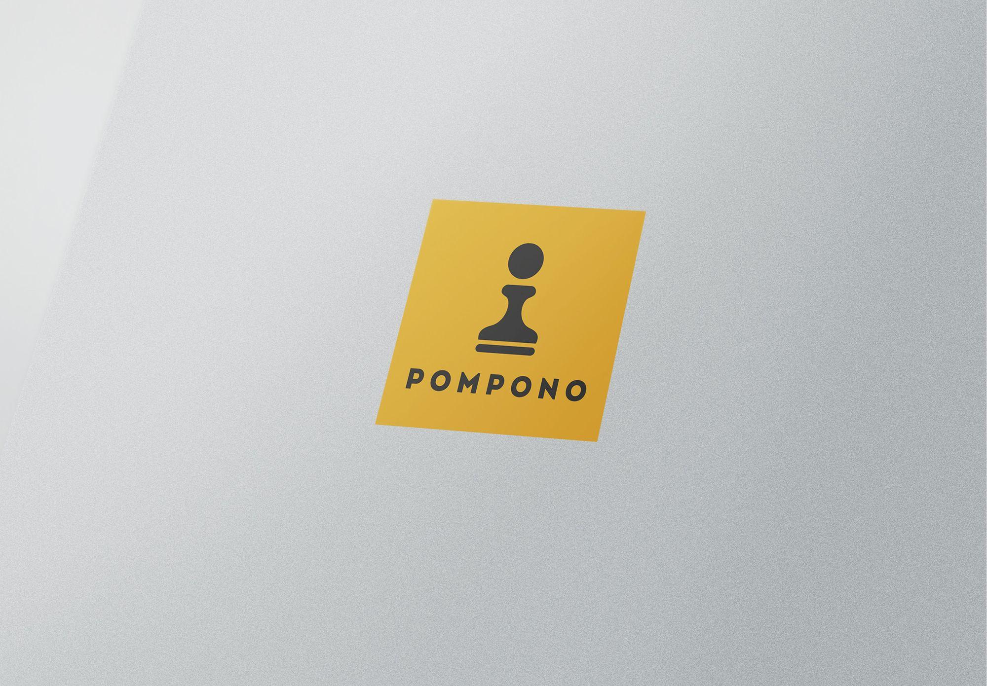 Логотип для шапок Pompono - дизайнер Gendarme