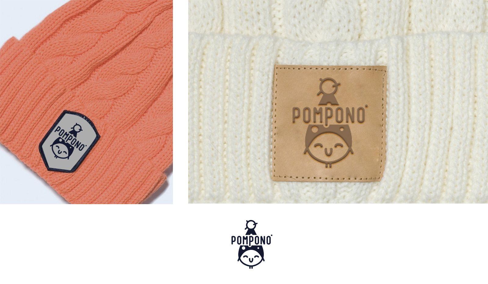 Логотип для шапок Pompono - дизайнер Martins206