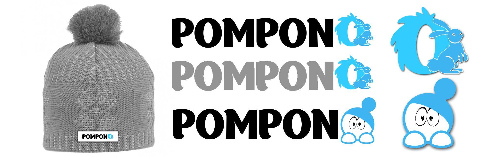 Логотип для шапок Pompono - дизайнер MILO_group_desi