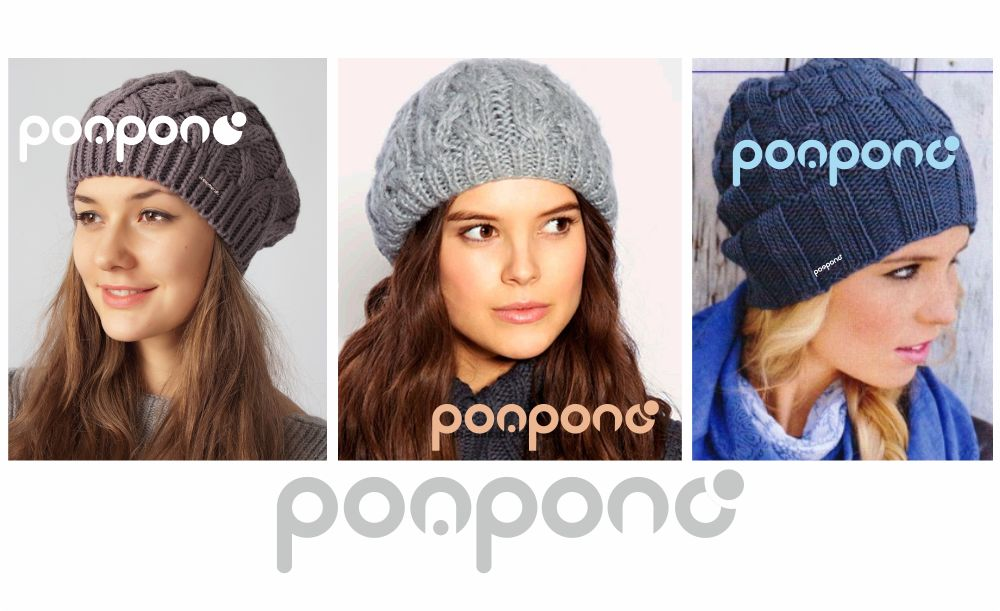 Логотип для шапок Pompono - дизайнер GoldAppleMoon