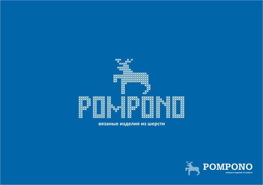 Логотип для шапок Pompono - дизайнер Yak84