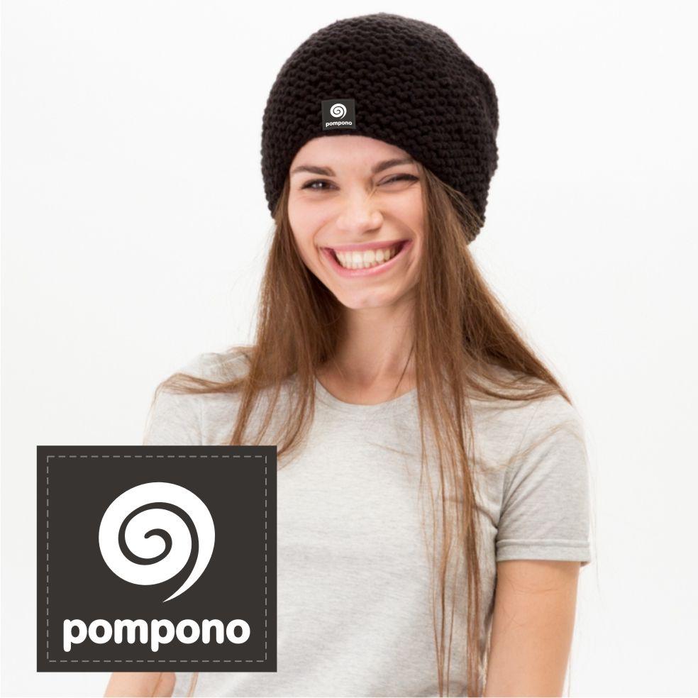 Логотип для шапок Pompono - дизайнер DINA