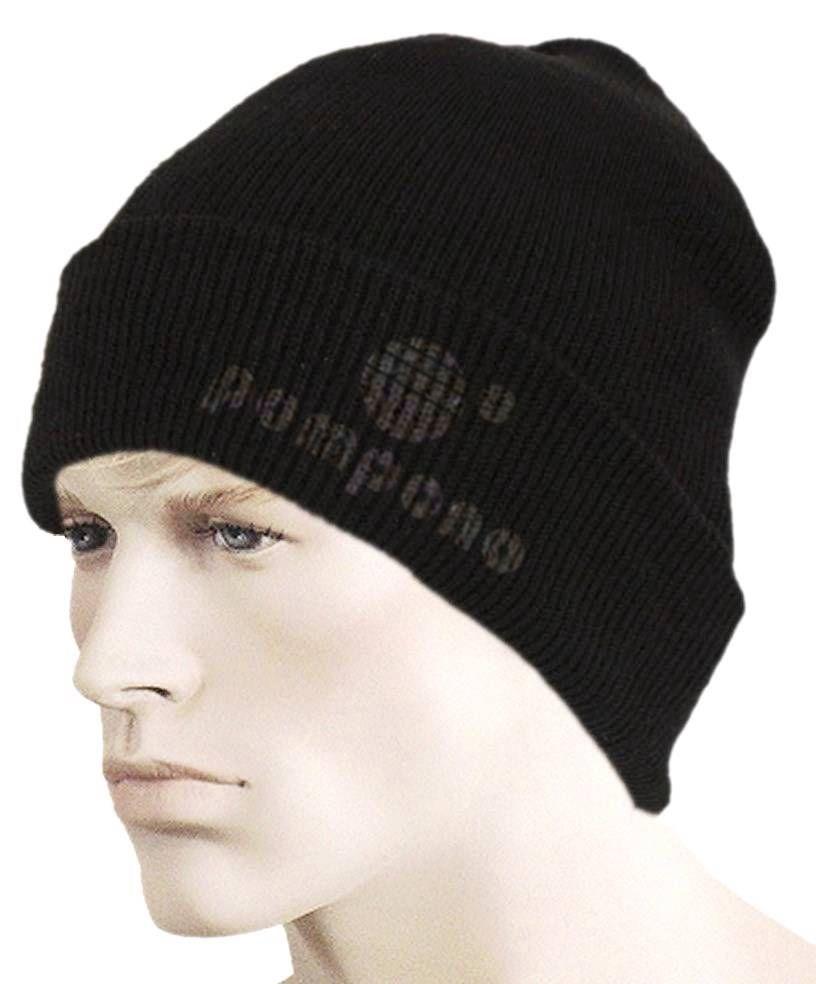 Логотип для шапок Pompono - дизайнер Jonathan_Ive