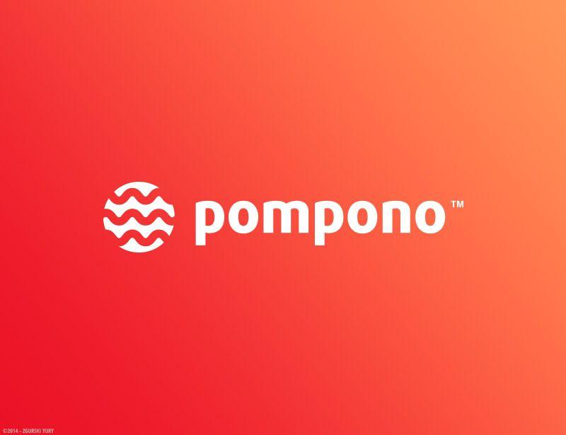 Логотип для шапок Pompono - дизайнер Odinus