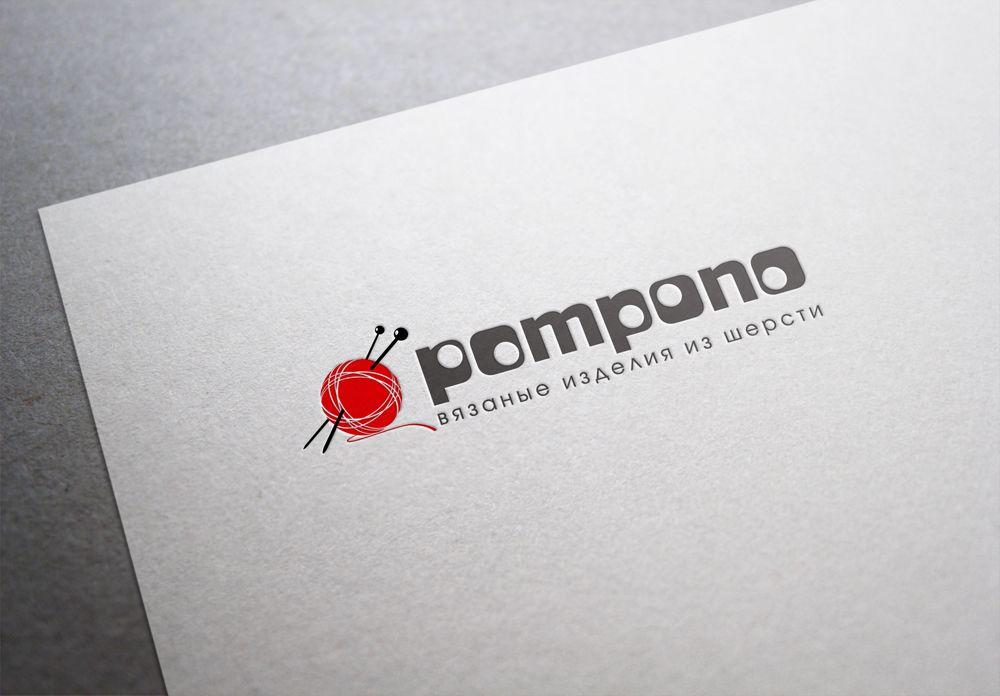 Логотип для шапок Pompono - дизайнер mz777