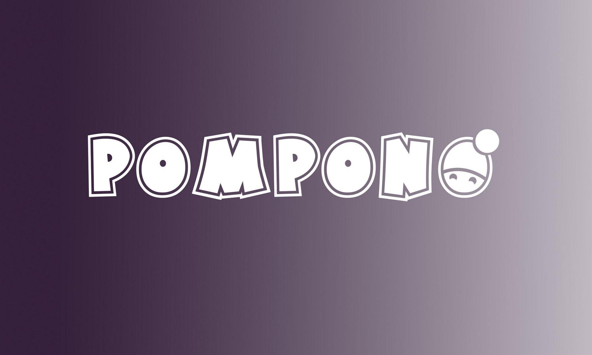 Логотип для шапок Pompono - дизайнер D_MarshaL