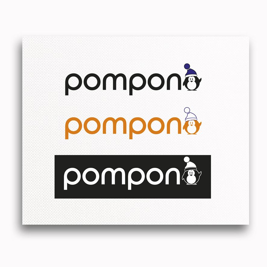 Логотип для шапок Pompono - дизайнер poligrafix