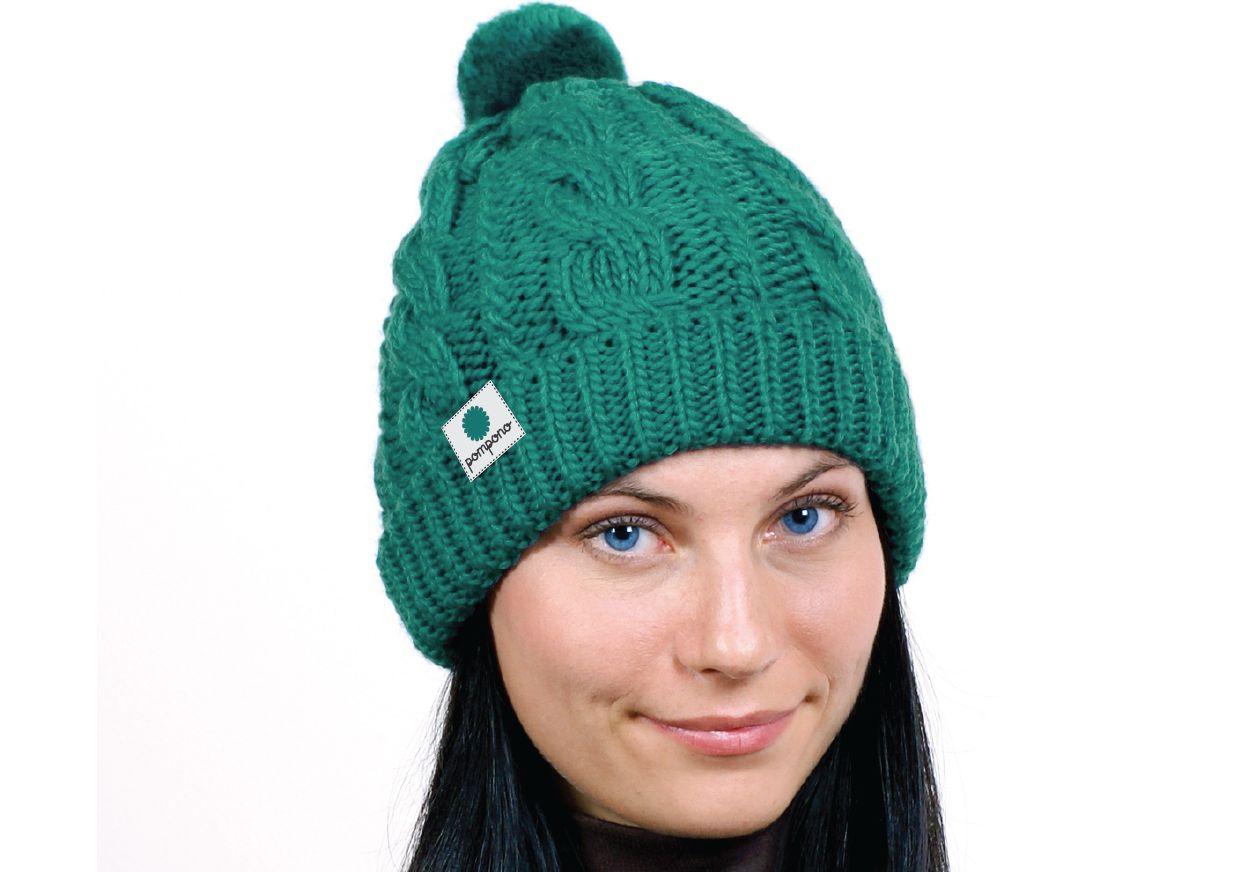 Логотип для шапок Pompono - дизайнер Liliy_k