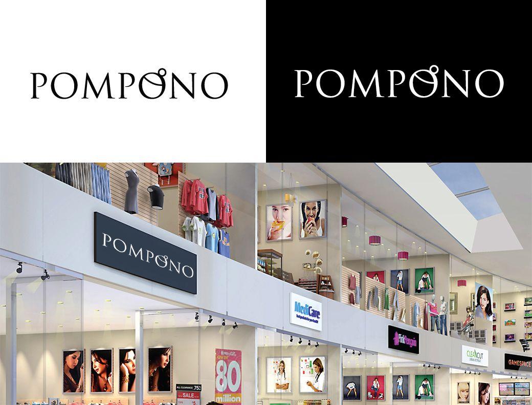 Логотип для шапок Pompono - дизайнер kolored